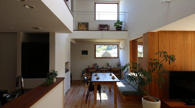 緑をめでる家 q1.0住宅